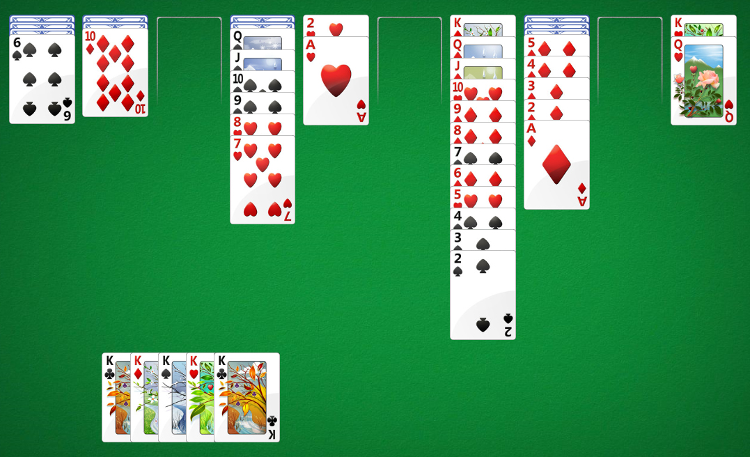 Spider Solitaire No More Moves Winner